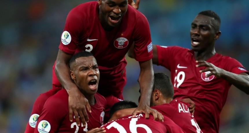En el Maracaná  Qatar dio la sorpresa ante Paraguay y dejó a Argentina a la expectativa