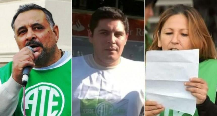 La conducción de ATE la dirimirán Oscar Muntes, Federico Gallardo y Yanina Sepic