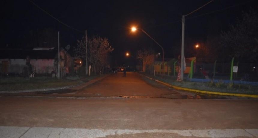 Hecho policial en calle Presidente Peron y Rocamora