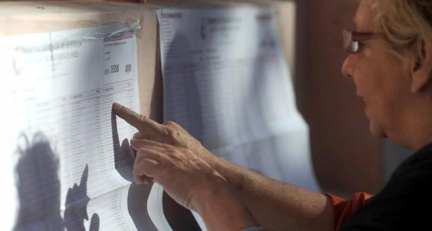 Prorrogan el plazo para incorporar electores que no figuren en el padrón
