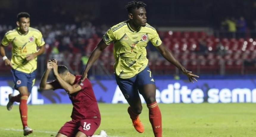Colombia ganó y es el primer clasificado