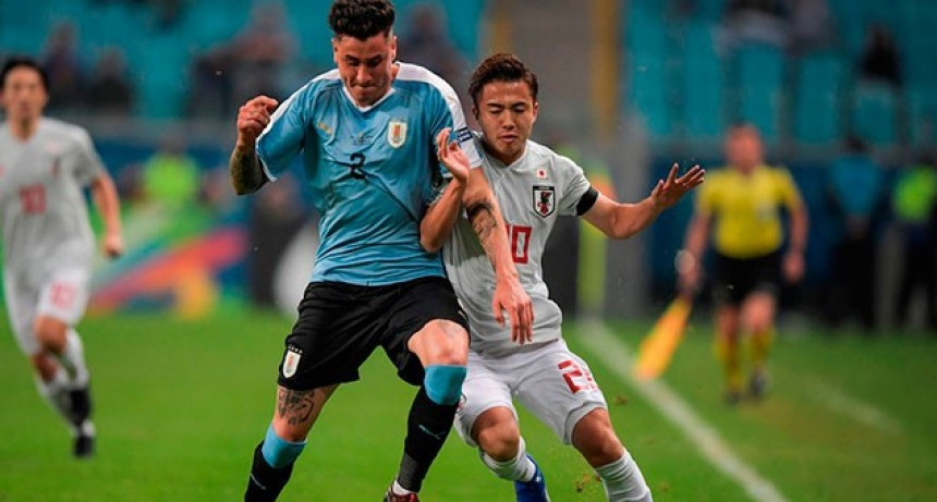 Copa América: Uruguay igualó ante Japón y no logró su pasaje a cuartos