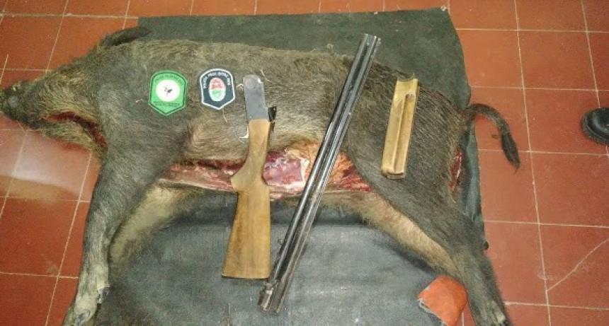 En otro operativo policial secuestran arma de fuego por Ley N 4841 de caza y por tenencia ilegal