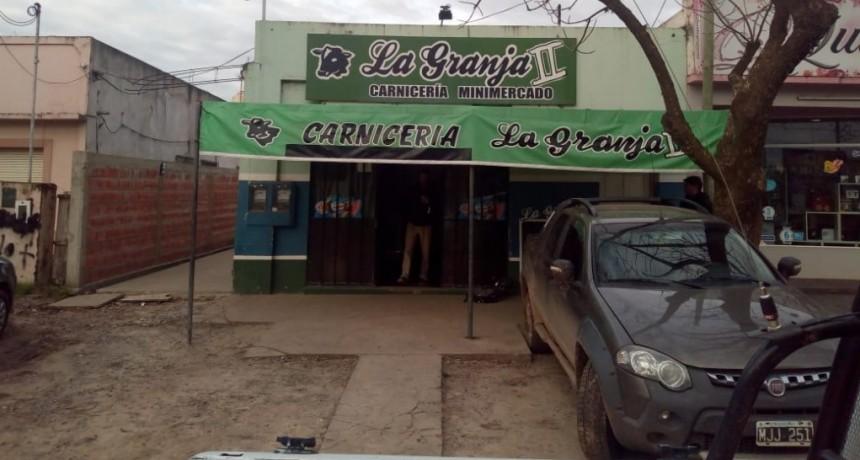 """Robo en  local comercial """"Carnicería La Granja Dos"""""""