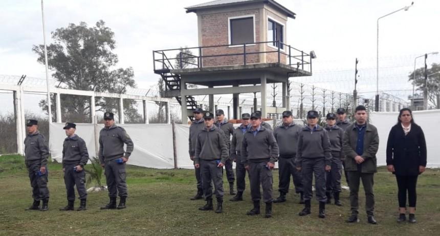 Se dispuso el ascenso de Agentes Penitenciarios de la Unidad Penal N 8 de Federal