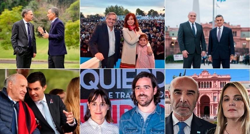 Cierre de listas: Las ocho fórmulas presidenciales que competirán en agosto