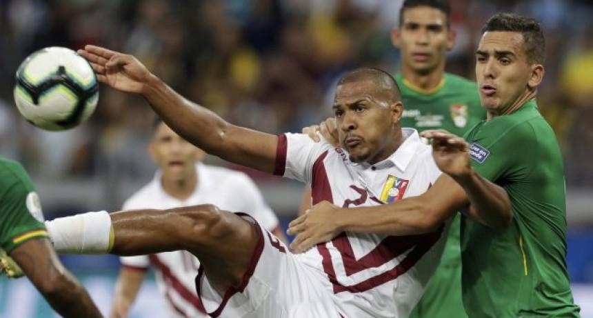 Venezuela avanzó a cuartos en Brasil 2019