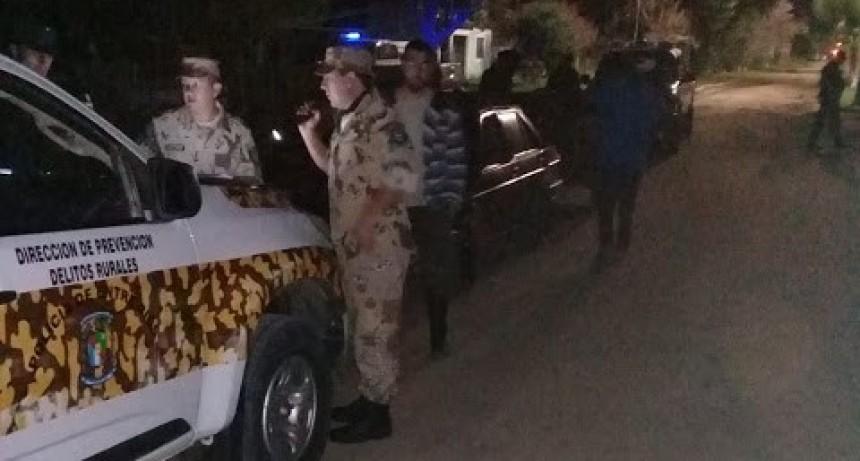 En otro operativo policial identifican cazadores furtivos y decomisan armas de fuego y animales silvestres
