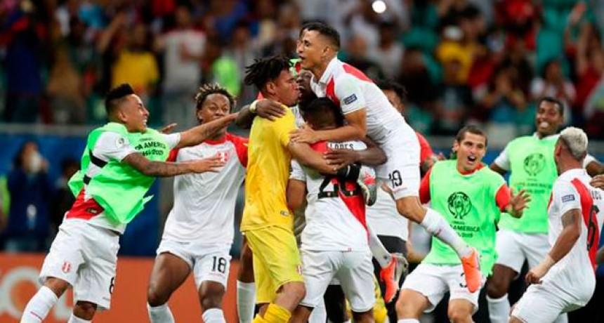 Perú dio el batacazo en la Copa América y dejó afuera por penales a Uruguay
