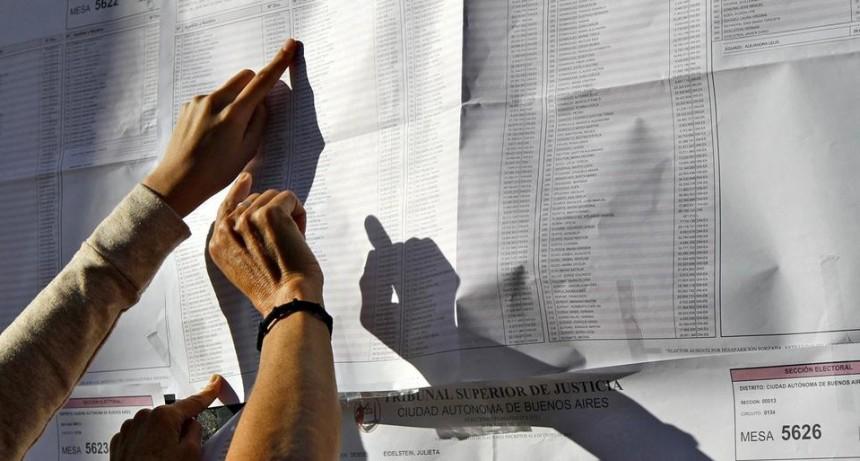Dónde voto: el padrón electoral 2019 se publicará el 12 de julio (Entre Ríos renueva bancas)