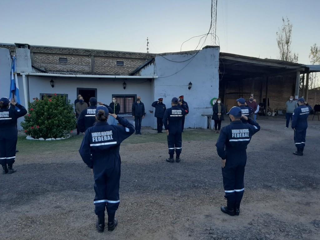 Acto Oficial por el día del Bombero Voluntario Argentino