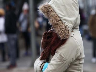 El frío podría hacerse sentir hasta el punto de congelación