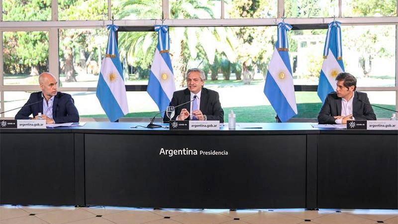 Fernández anunció que el AMBA vuelve a aislamiento estricto hasta el 17 de julio