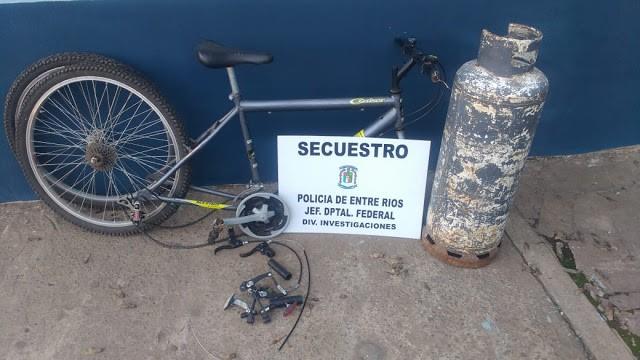 Secuestran elementos que fueran sustraídos de un domicilio en Calle Cepeda