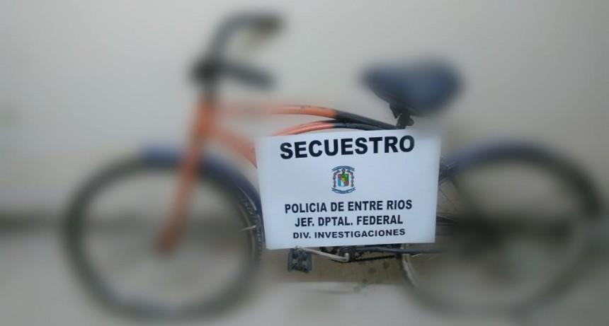 Actuaciones prevencionales a fin de establecer real propiedad y procedencia  de bicicletas secuestradas en la vía pública