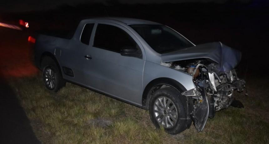 Accidente de transito en Ruta Nacional N 127