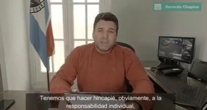 El Intendente Gerardo Chapino anunció nuevas habilitaciones