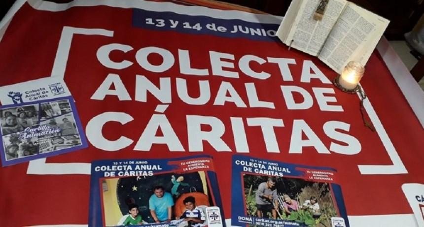 Este fin de semana se lleva adelante la colecta anual de Cáritas