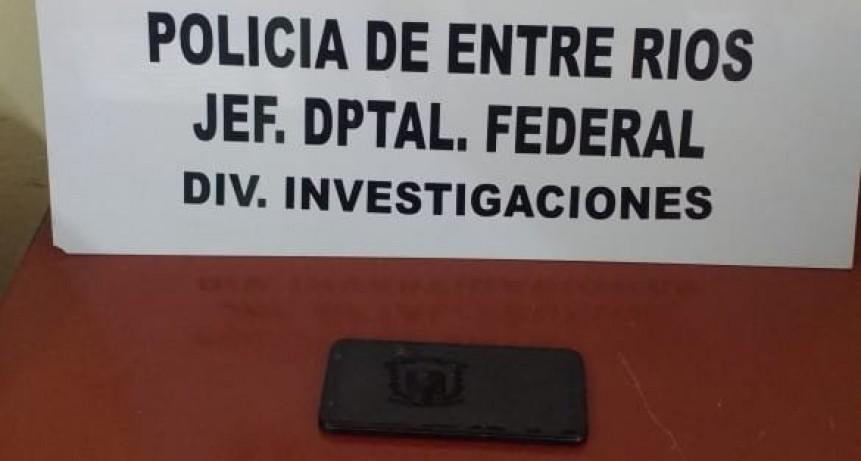 Sustracción y secuestro de equipo telefónico