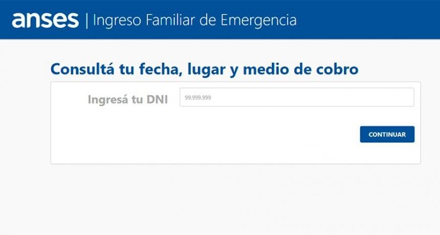 Ingreso Familiar de Emergencia: Nuevo aplicativo para consultas del segundo pago