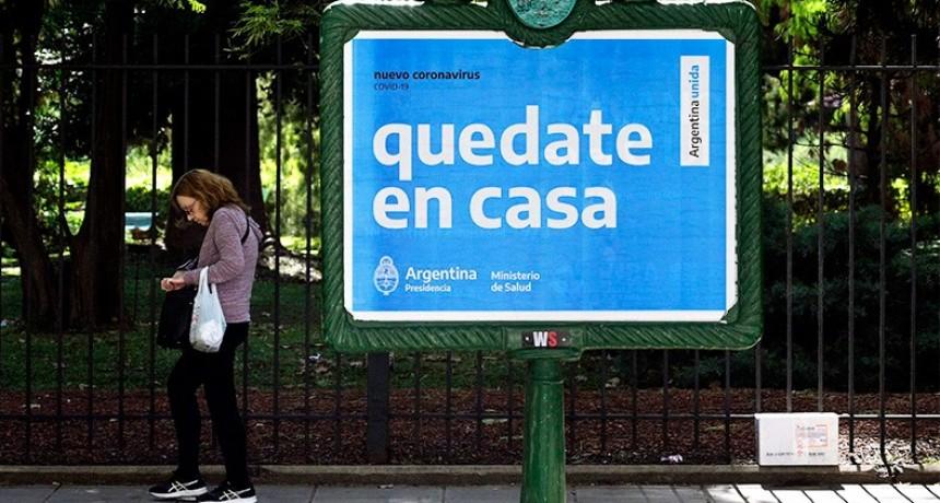 Coronavirus: Se registraron nueve muertes y suman 842 las víctimas en Argentina