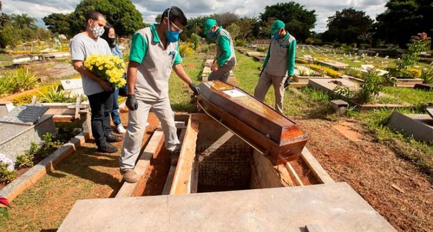 Brasil registró nuevo récord diario de contagios de coronavirus: 37.000 casos
