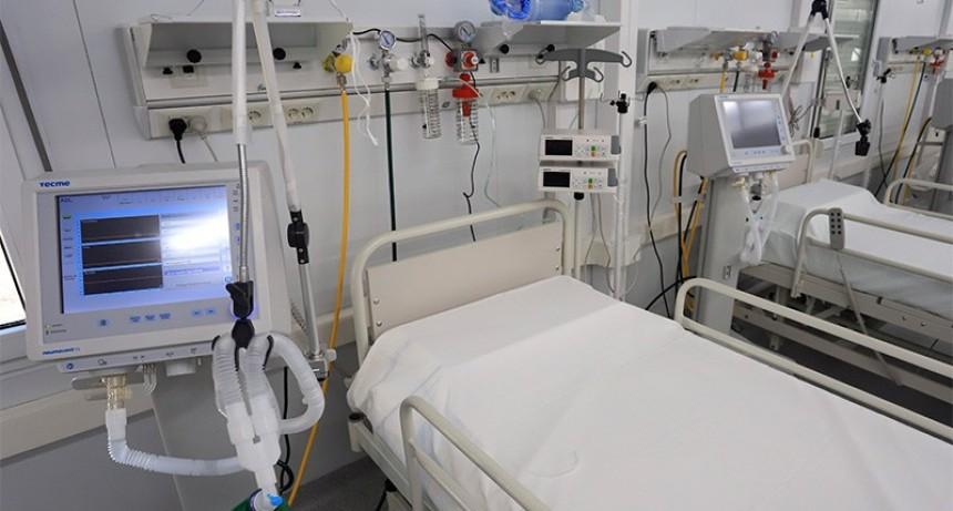 Ocupación de terapia intensiva llega a 45% en el país y es menor en Entre Ríos