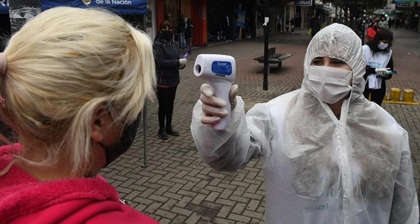 Otros 12 muertos por coronavirus y se suman 1.634 nuevos infectados en el país