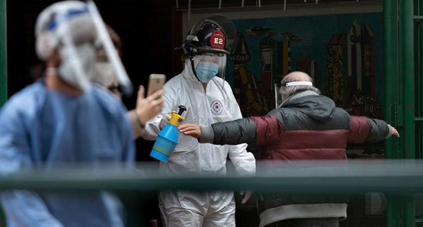 Coronavirus en Argentina: Nuevo pico de casos con 2285 infectados y 35 muertos