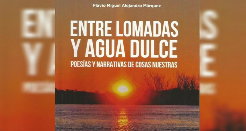 Flavio Márquez presenta su libro