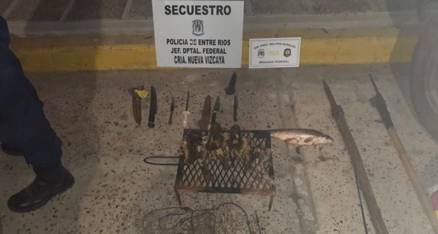 Procedimiento Ley de Pesca en Comisaria de Nueva Vizcaya