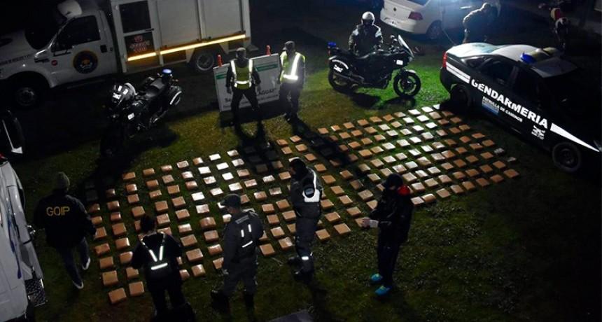 Hallaron 233 kilos de droga en tanque de combustible de un camión en Entre Ríos