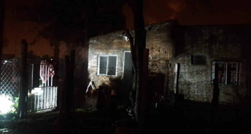 Incendio en una vivienda ubicada en Calle Santa Fe