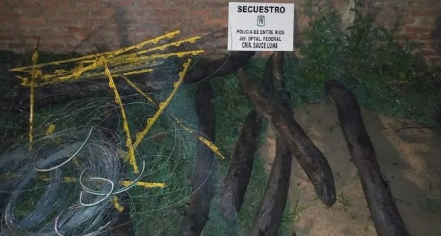 Recuperaron elementos que fueran robados en la estancia Tembiapo