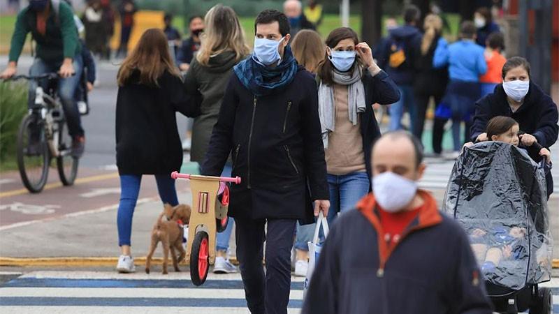 Reportaron 268 muertes y 13.043 casos de covid-19 en Argentina