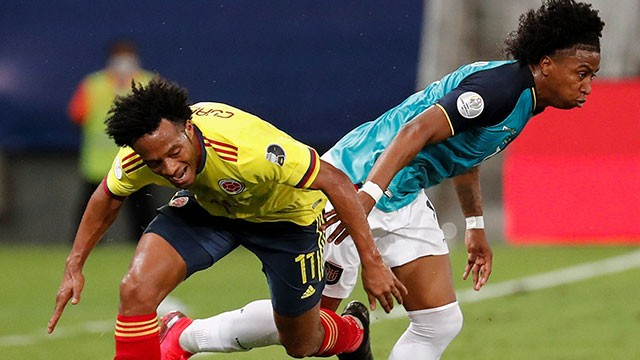 Copa América: Con golazo de Cardona, Colombia derrotó a Ecuador en su debut
