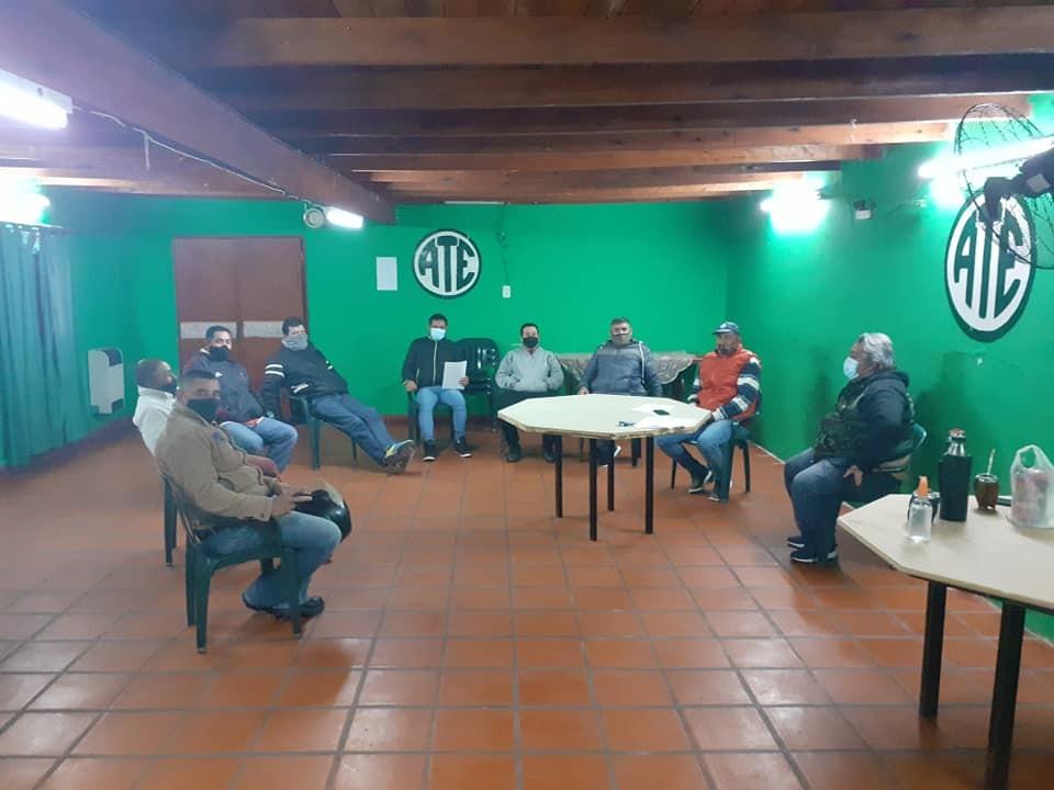 Reunión del cuerpo de delegados  de Ate de la Municipalidad de Federal.