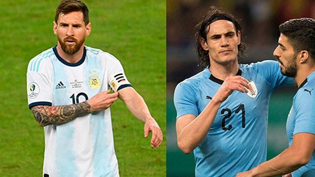 Clásico por la Copa América: Argentina y Uruguay se enfrentan en Brasilia
