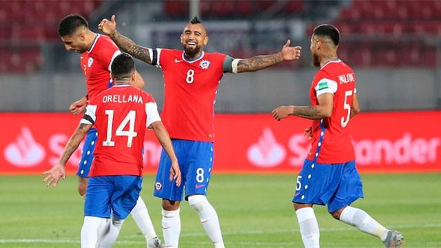 Chile se impuso por 1 a 0 ante Bolivia y es puntero