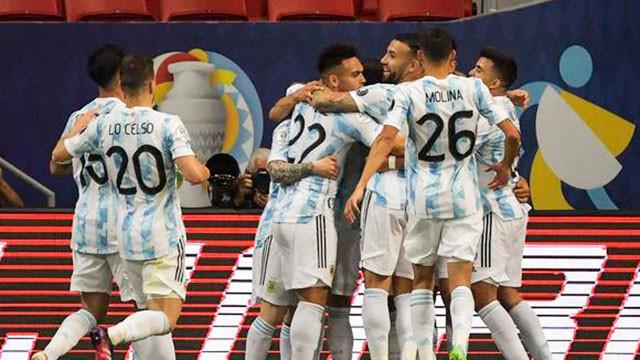Primer festejo: La Selección Argentina derrotó a Uruguay y es líder en la Copa América