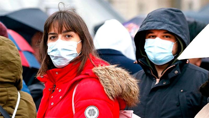 Reportaron 10.395 contagios de coronavirus en el país y 301 muertes