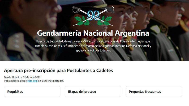 Gendarmería abrió la inscripción para ingresar a la Fuerza: los requisitos