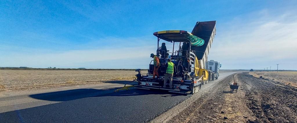 Continúan los trabajos de rehabilitación de la ruta provincial 6