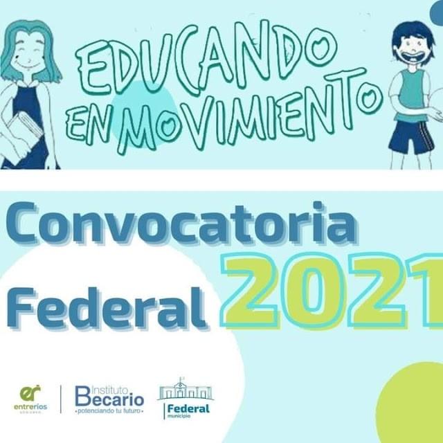 Educando en Movimiento : Convocatoria Federal 2021