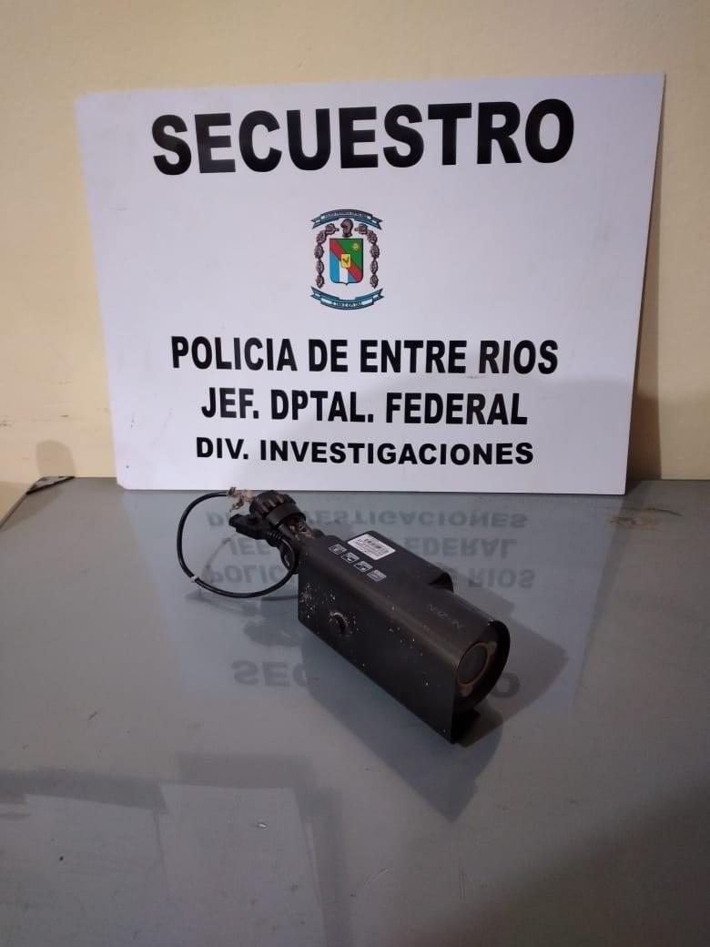 RECUPERO DE CAMARA DE SEGURIDAD SUSTRAIDA