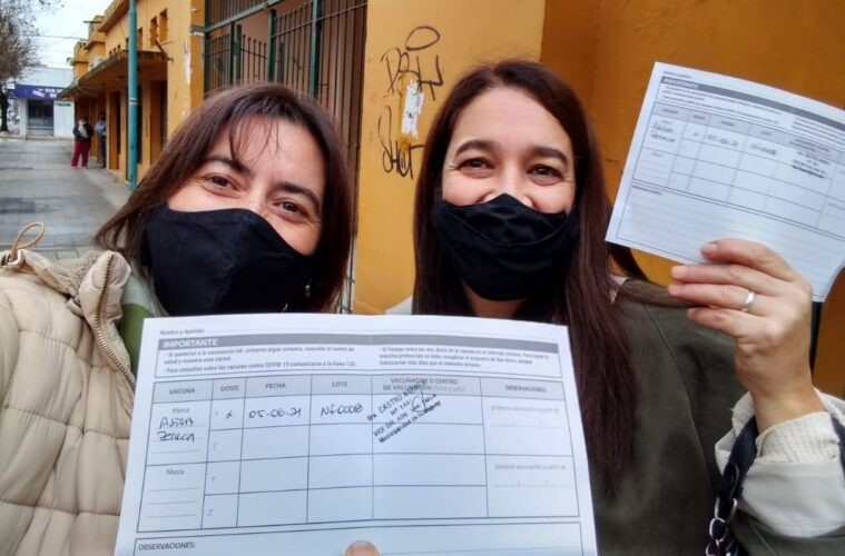 Es oficial: se han vacunado 39.180 docentes y no docentes
