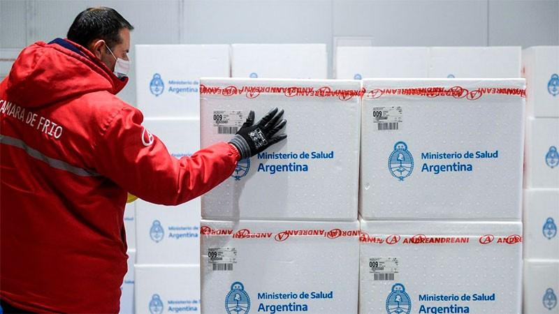 Distribuyen nuevas dosis de Sinopharm en el país: Entre Ríos recibirá 36.800