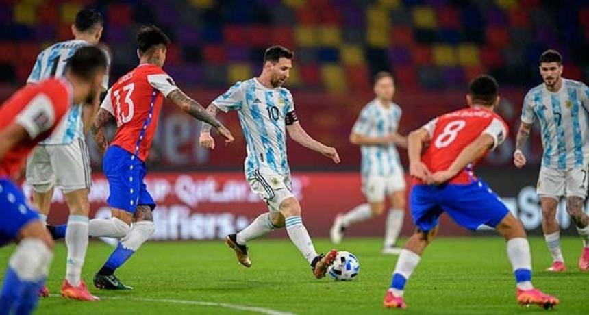 Argentina no pudo con Chile por las Eliminatorias: fue empate 1-1 en Santiago del Estero