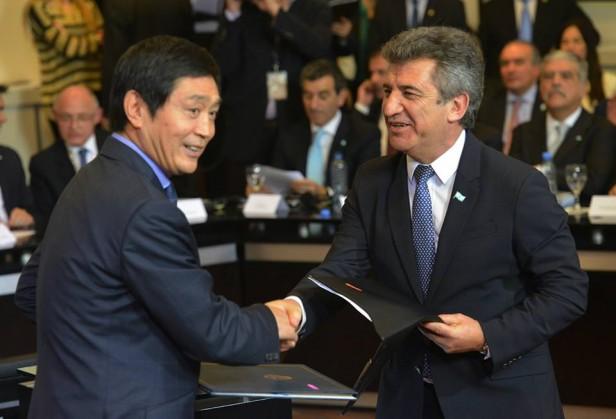 Declaraciones del Gobernador luego de la firma del acuerdo con el gobierno Chino