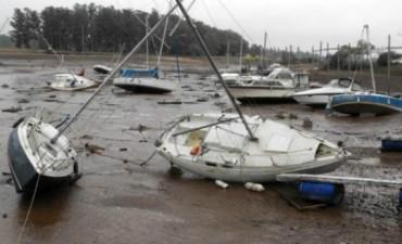 El lago de Salto Grande preparado para recibir la crecida del Uruguay